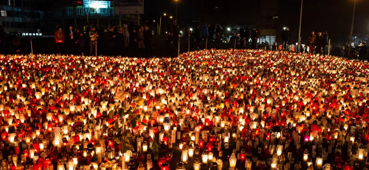 Plac Solidarności w Gdańsku. fot. Filip Jesiołowski