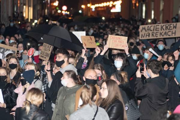 Protest antyaborcyjny