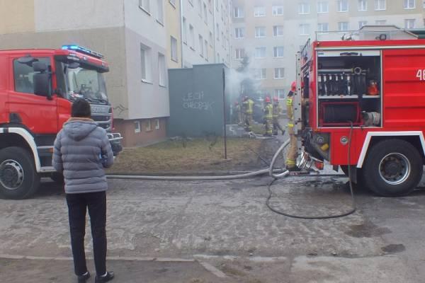 Pożar przy Emilii Plater