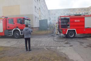 Pożar przy Emilii Plater - DSCF8413