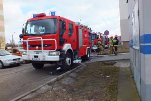 Pożar przy Emilii Plater - DSCF8415