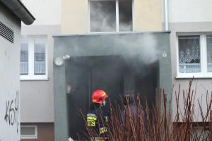 Pożar przy Emilii Plater - DSCF8417