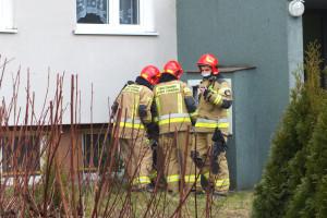 Pożar przy Emilii Plater - DSCF8418