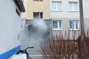 Pożar przy Emilii Plater - DSCF8419