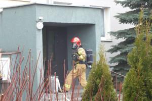 Pożar przy Emilii Plater - DSCF8420