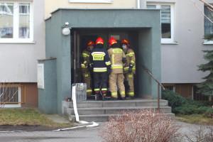 Pożar przy Emilii Plater - DSCF8422