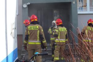 Pożar przy Emilii Plater - DSCF8423