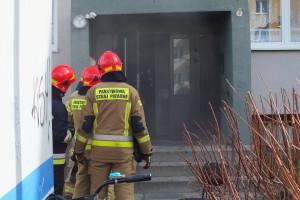 Pożar przy Emilii Plater - DSCF8424
