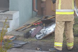 Pożar przy Emilii Plater - DSCF8425
