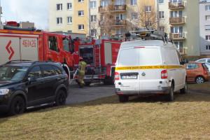 Pożar przy Emilii Plater - DSCF8426