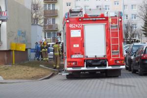Pożar przy Emilii Plater - DSCF8428