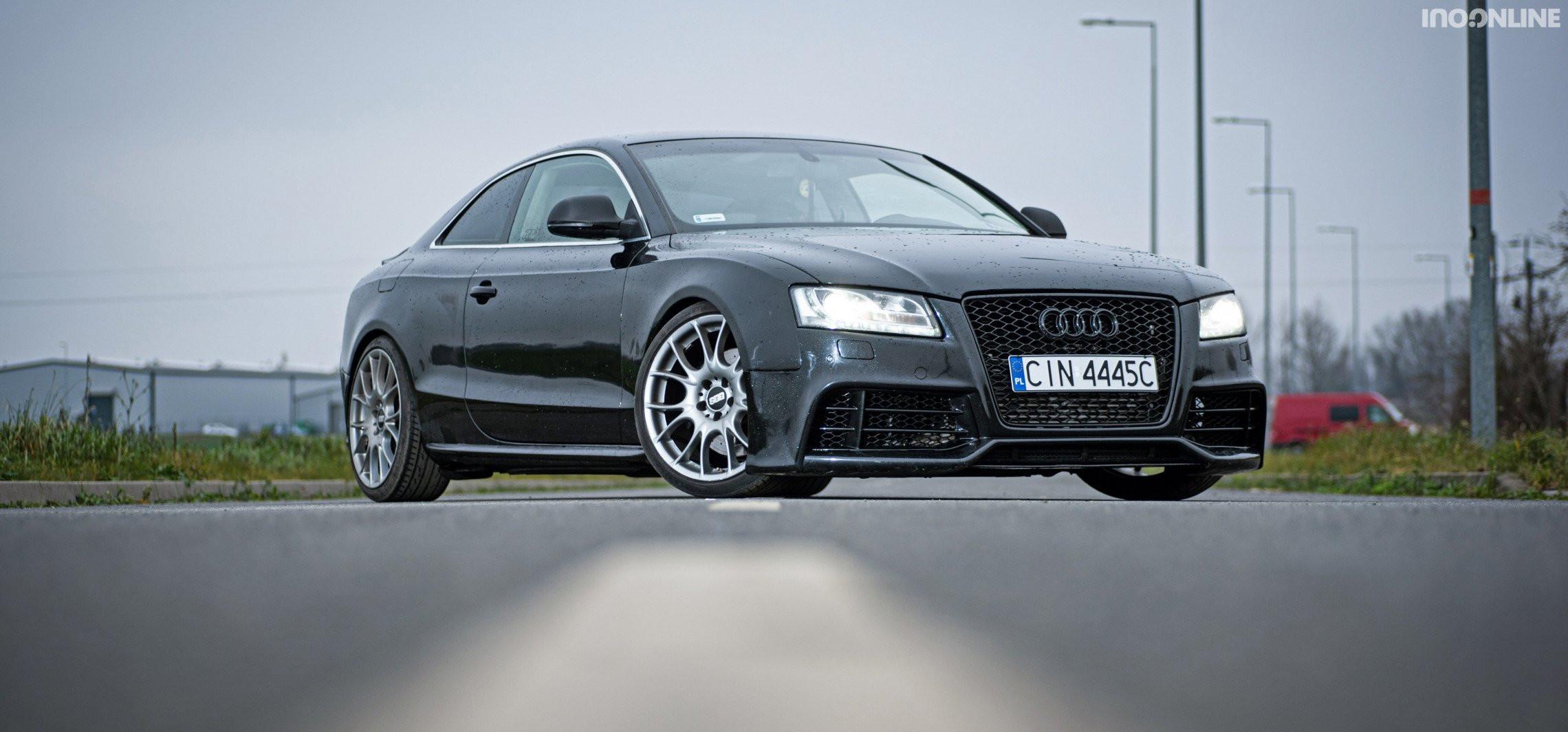 Audi fake RS5: 370 KM i 730 Nm