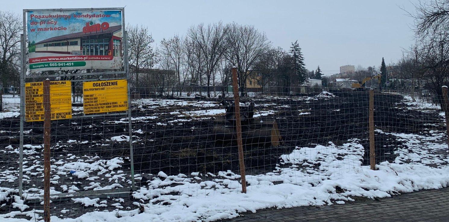 Inowrocław - Przy Długiej powstaje nowy market