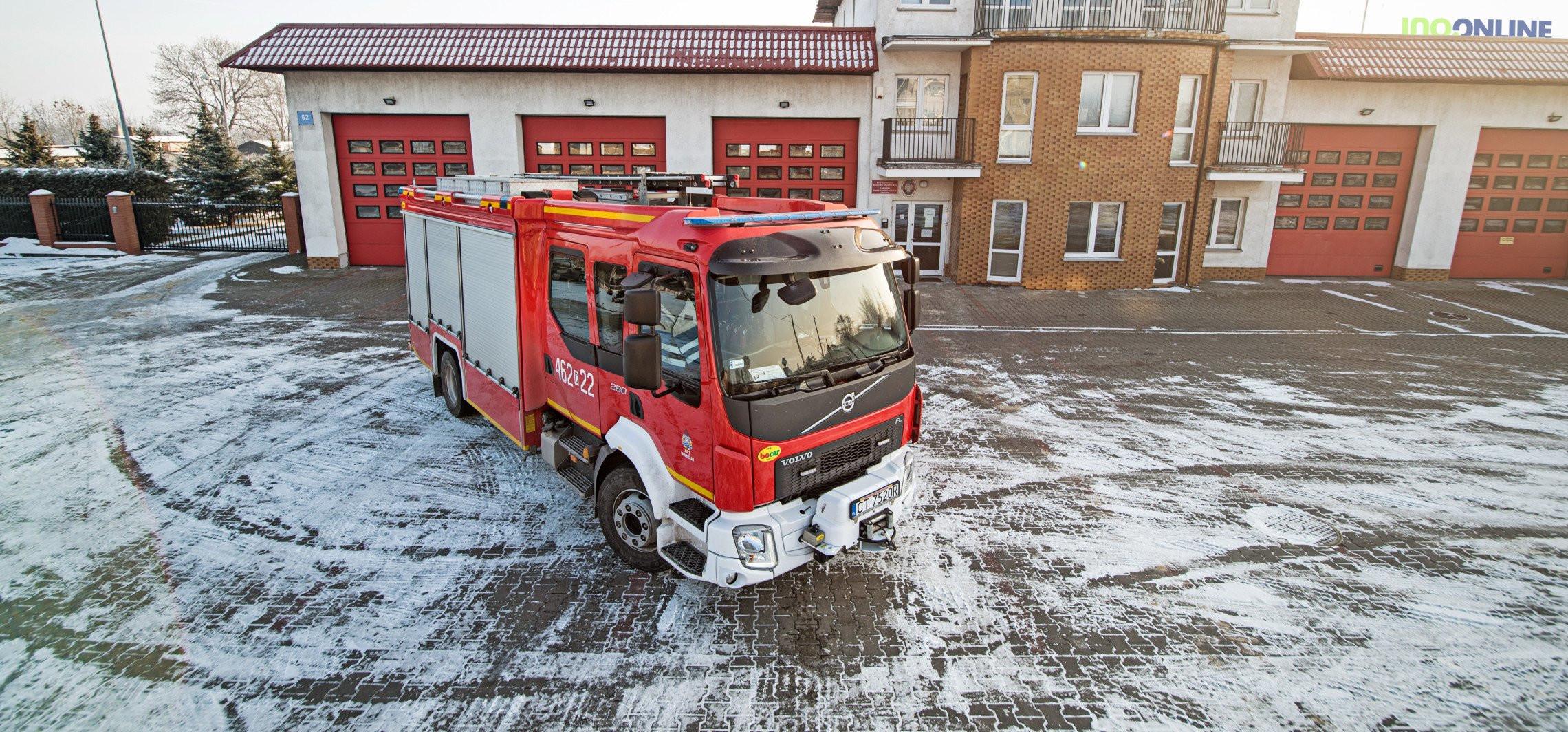 Prześwietlamy nowoczesny samochód strażacki