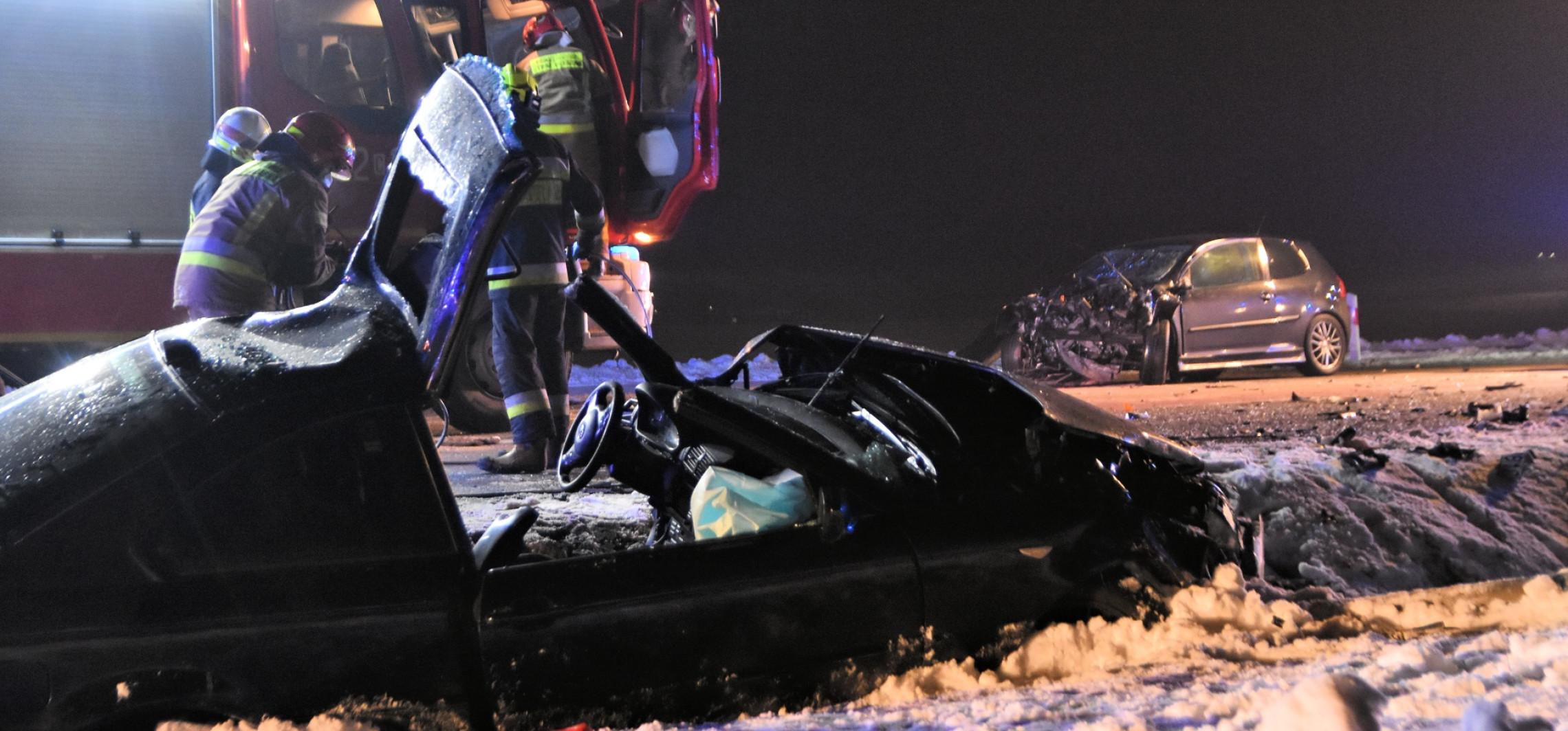 Inowrocław - Groźny wypadek koło Latkowa