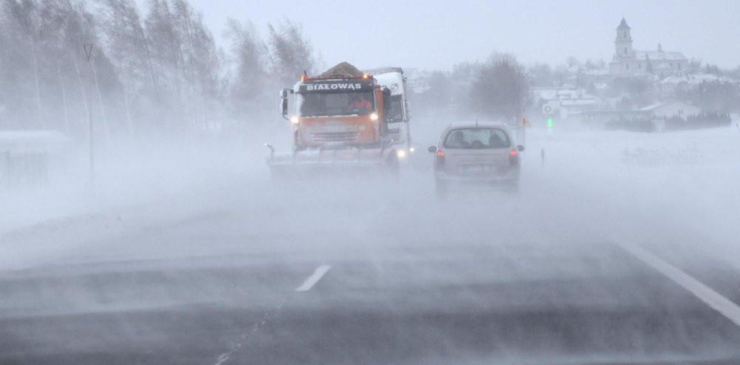 Kraj - IMGW uruchamia serwis z prognozą zagrożeń drogowych dla kierowców