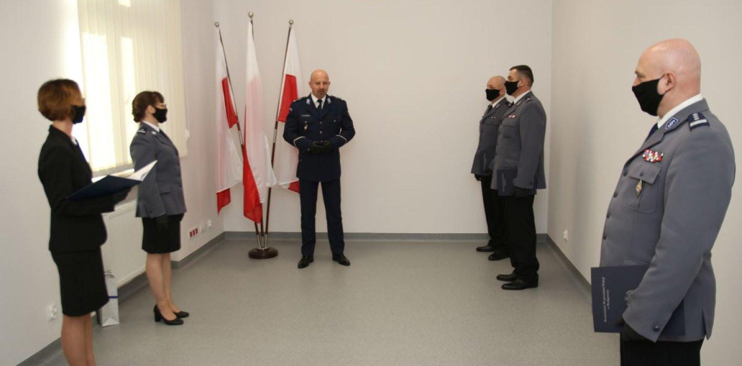 Inowrocław - Inowrocławska policja ma nowego szefa. Kim jest?