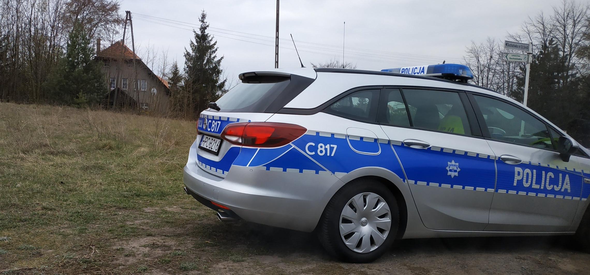 20-latka jechała 112 km/h przez Suchatówkę