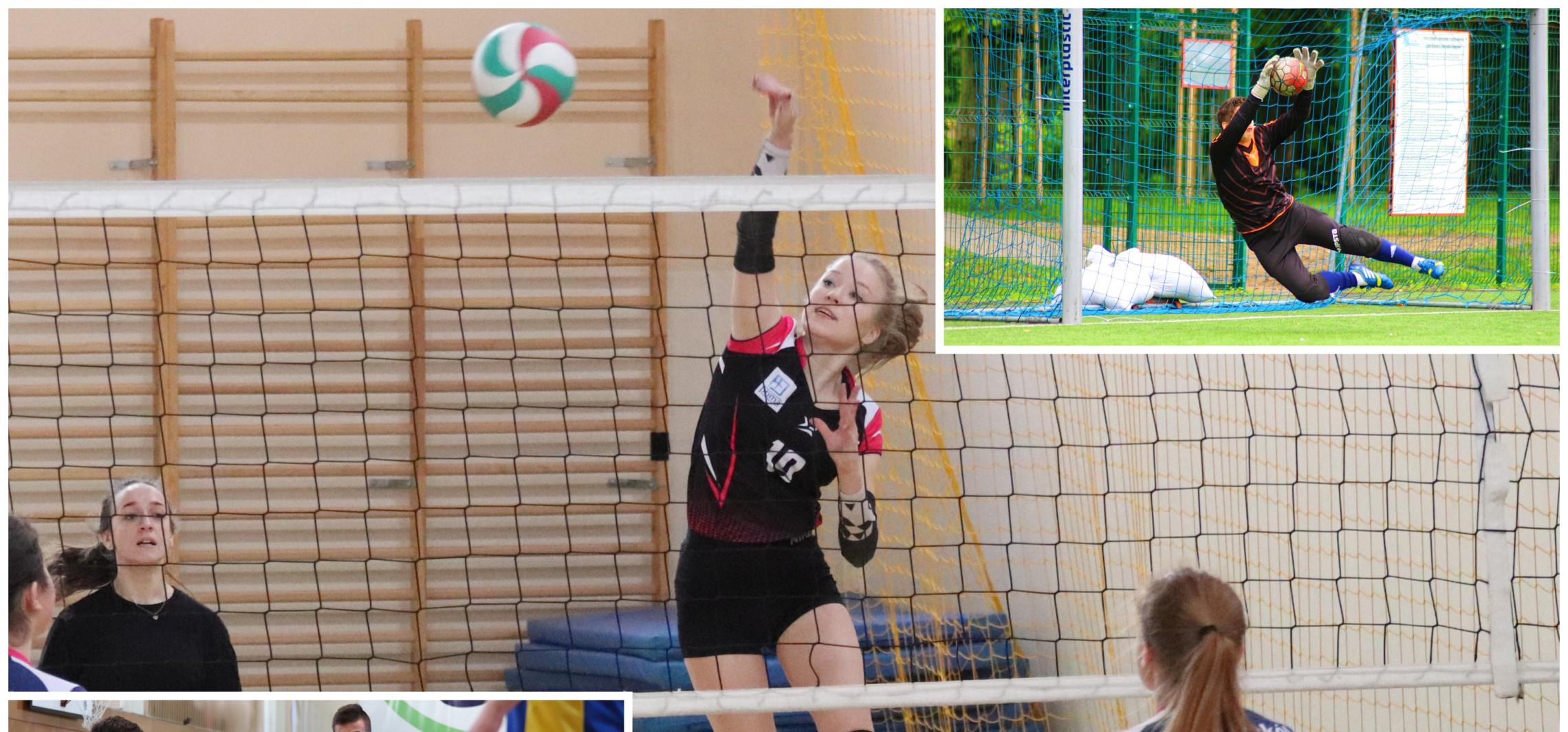Inowrocław - Siatkówka, nożna, aerobik... SKS-y wracają do szkół