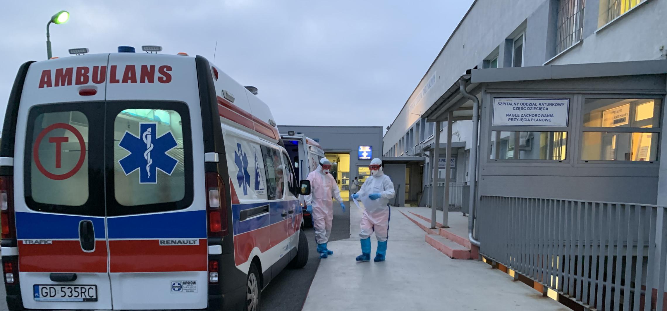 Inowrocław - Coraz więcej chorych. W szpitalu brakuje miejsc