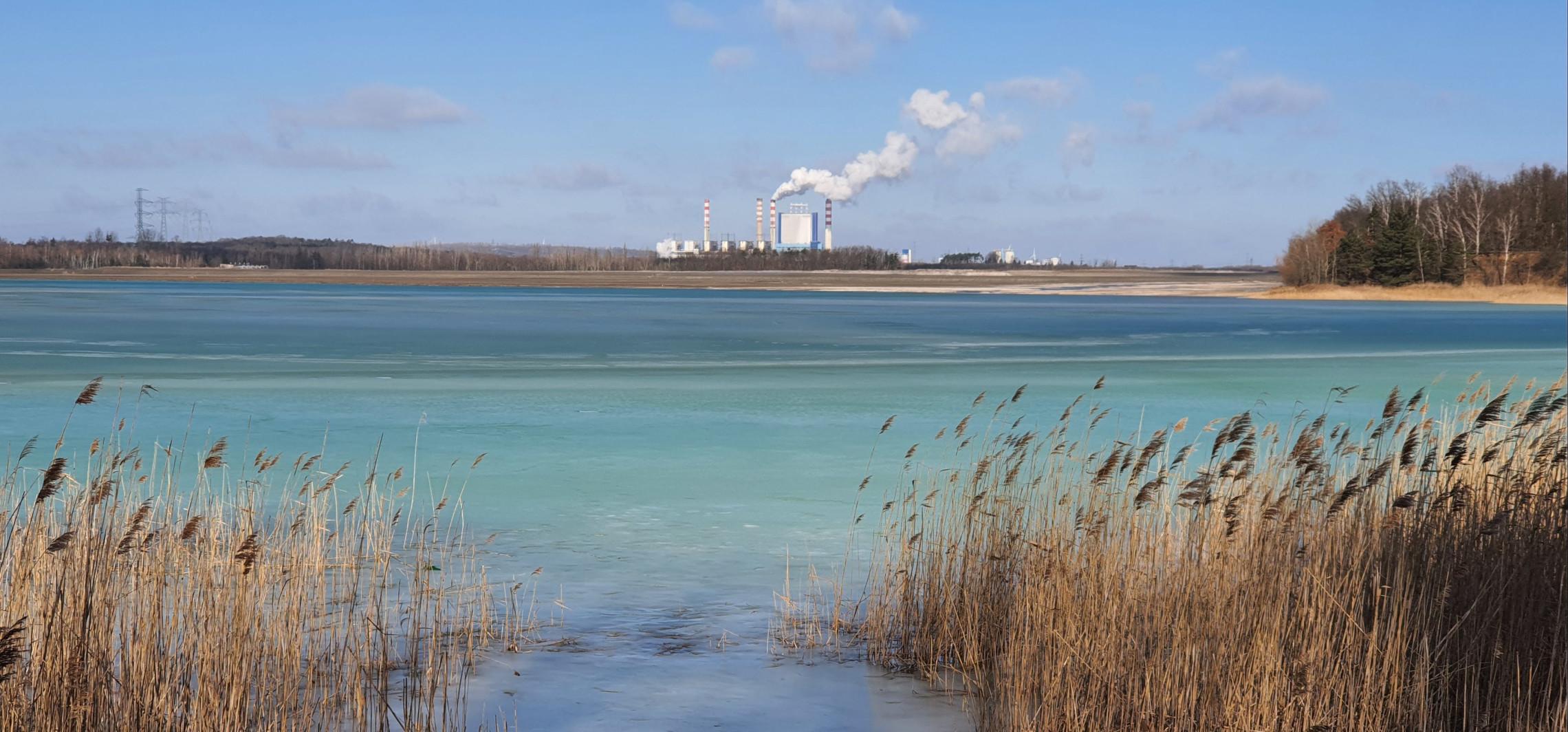 Inowrocław - Zielona środa: turkusowe jezioro