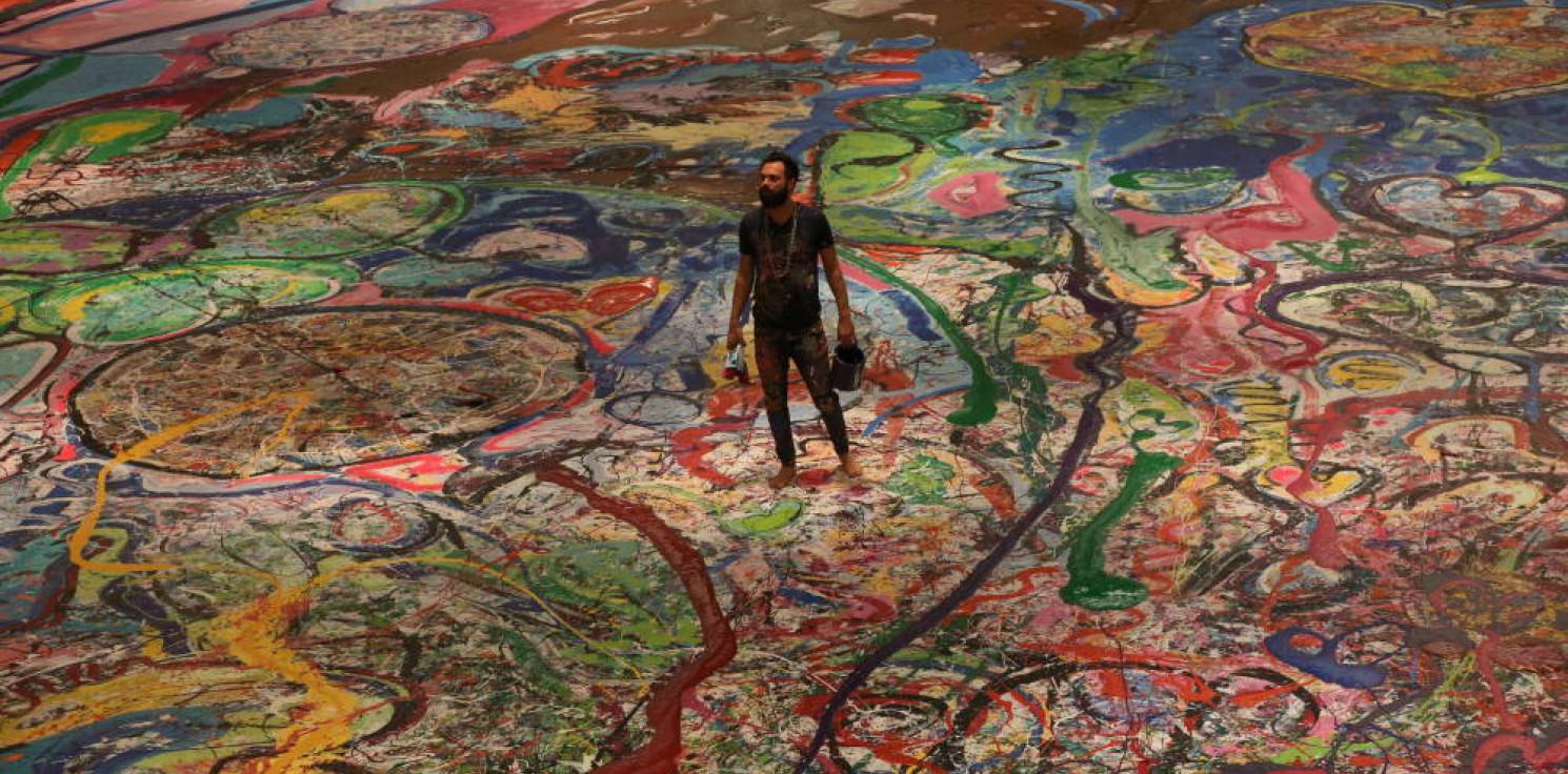 Świat - ZEA: największy na świecie obraz na płótnie sprzedany za 62 mln dolarów