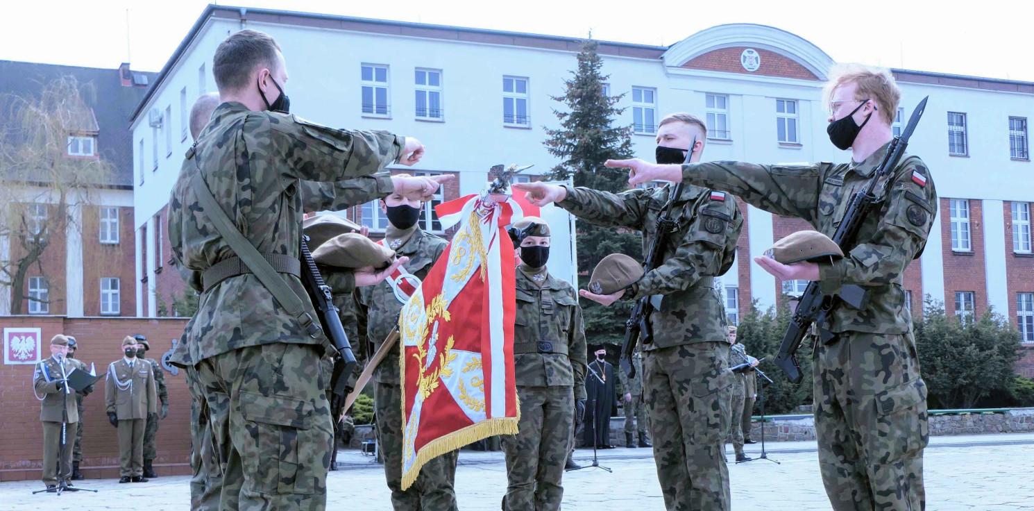 Inowrocław - Przysięga w inowrocławskiej jednostce