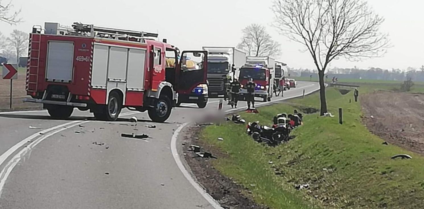 Kruszwica - Wypadek w Janocinie. 16-latek zmarł w szpitalu