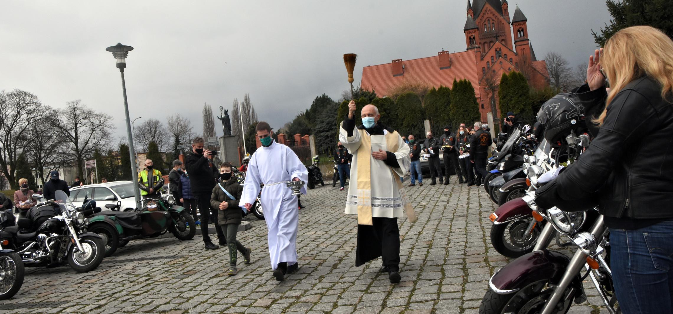 Inowrocław - Ze święconką w kaskach. Wielkanoc motocyklistów