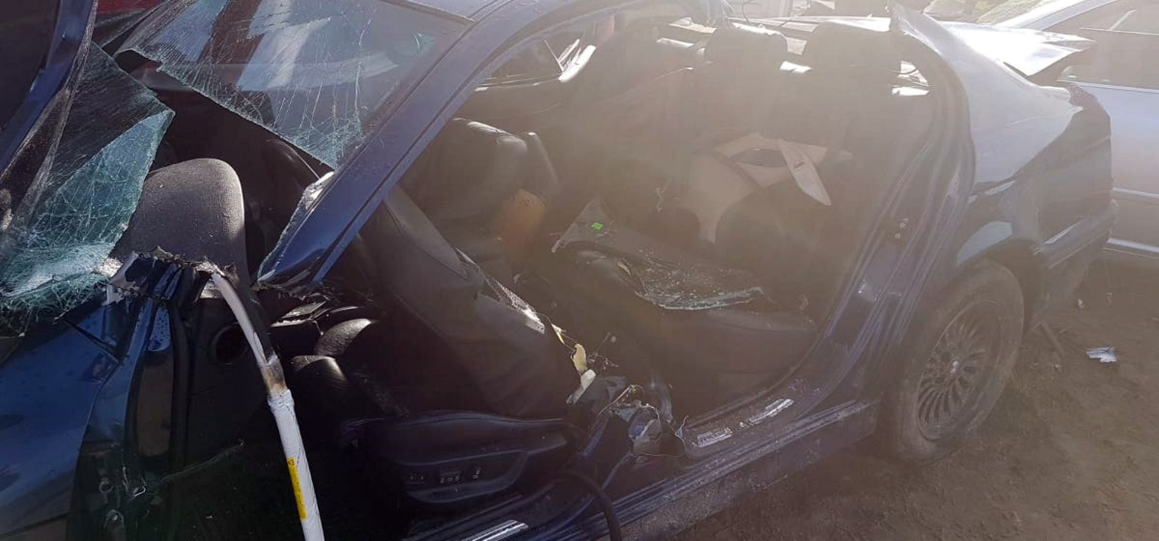 Region - Staranował 5 aut. 33-latek z BMW nie miał prawka