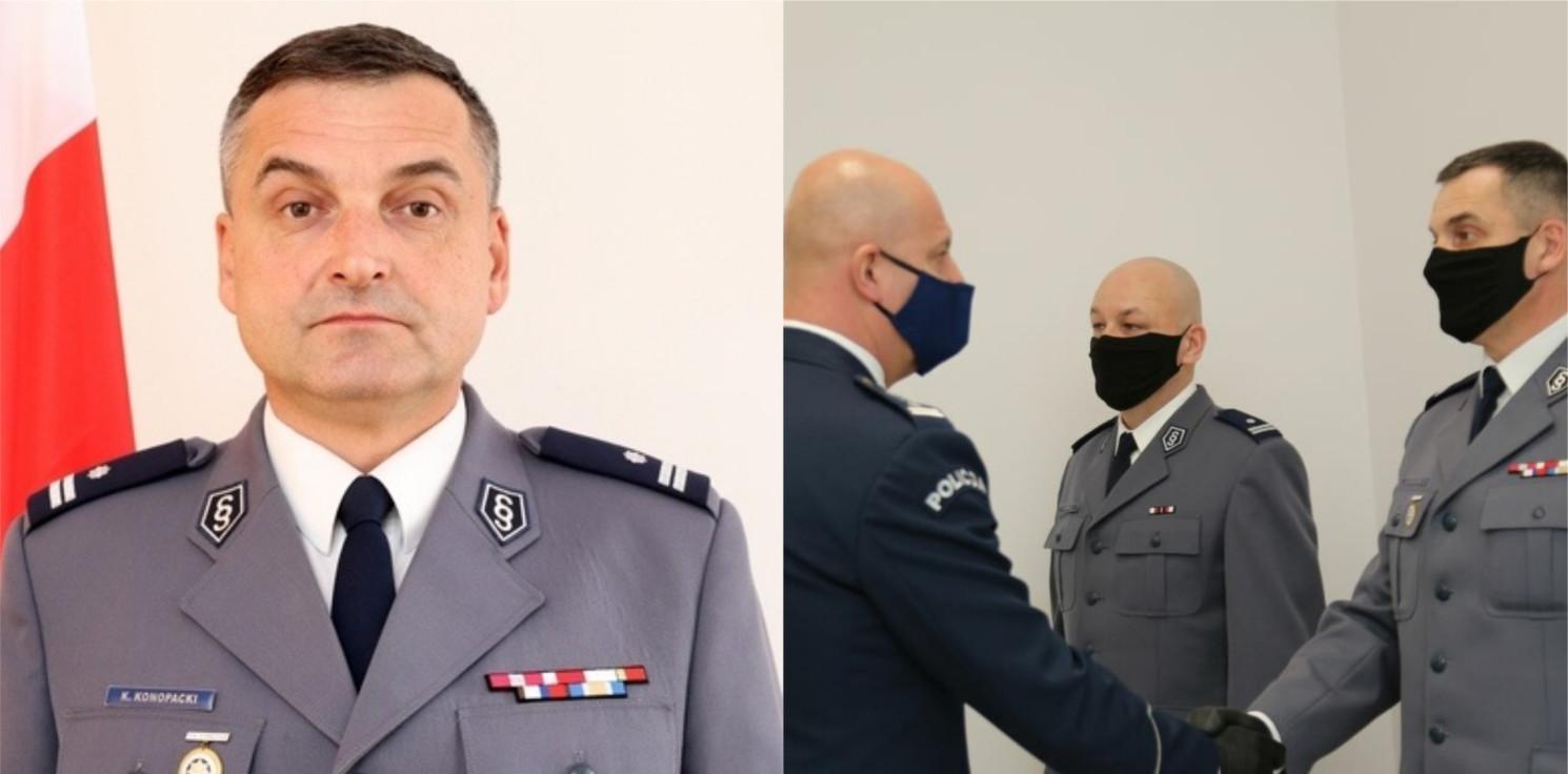 Inowrocław - Jakie cele stawia policjantom nowy komendant? Rozmowa
