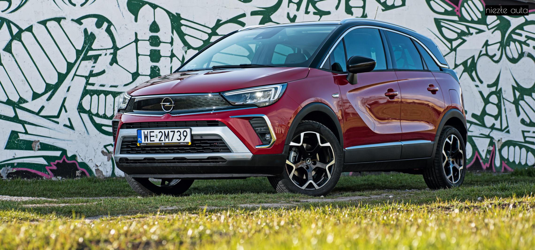 Test: Opel Crossland - modny mieszczuch