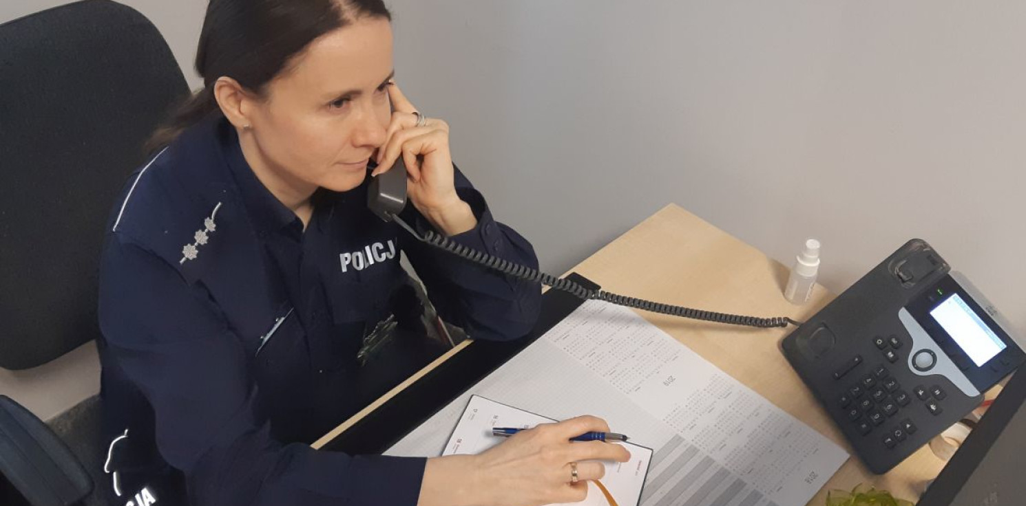 Inowrocław - Problemy dzieci omówili na policyjnym dyżurze