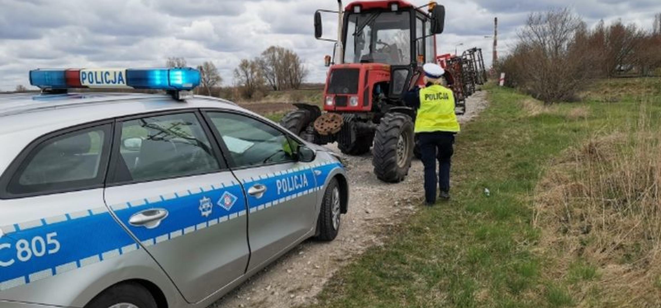Inowrocław - Kierowcę ciągnika czeka surowa kara