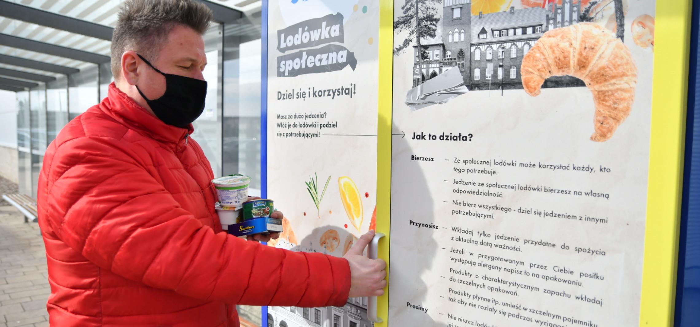 Inowrocław - Lodówka społeczna cieszy się dużą popularnością