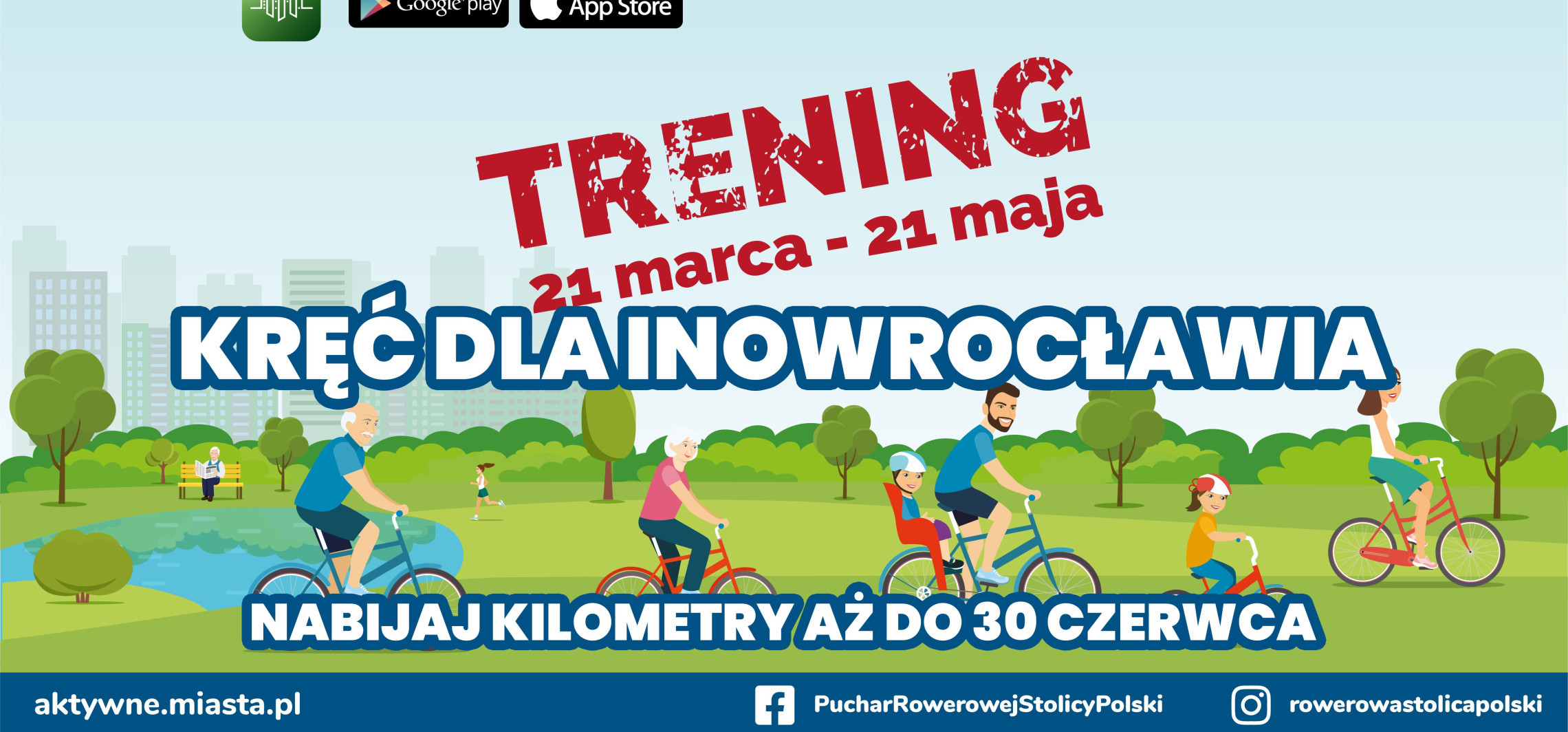 Inowrocław - Inowrocław w wielkiej rowerowej rywalizacji