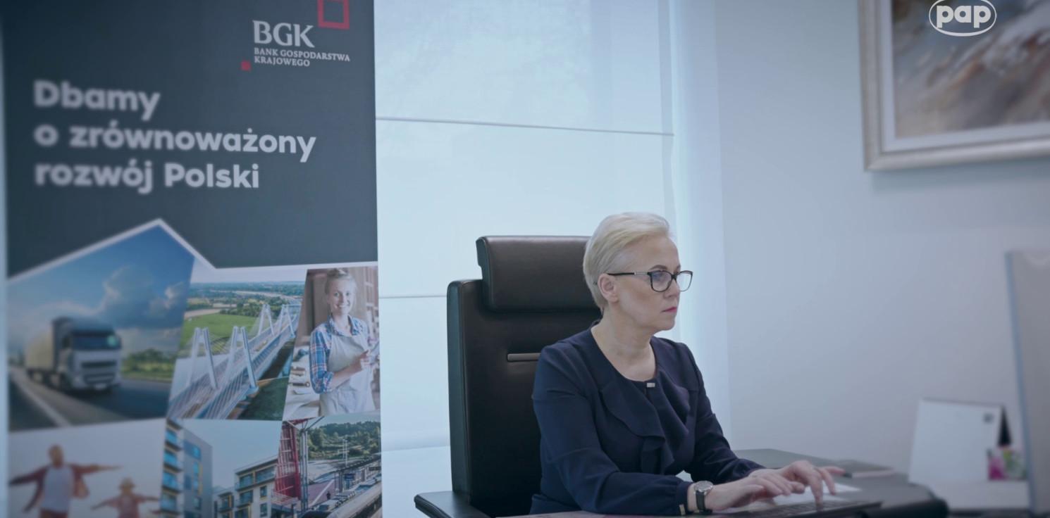 Kraj - BGK udzielił wsparcia polskim przedsiębiorcom 100 tysięcy razy w czasie pandemii