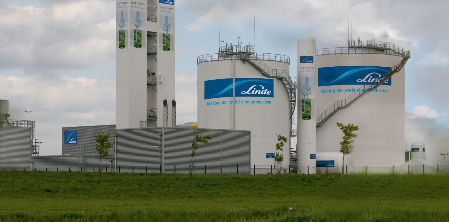 Kraj - Zakład Linde Gaz Polska zasilany zieloną energią