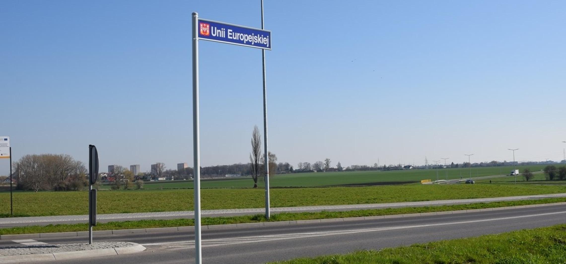 Inowrocław - Mamy już ulicę Unii Europejskiej