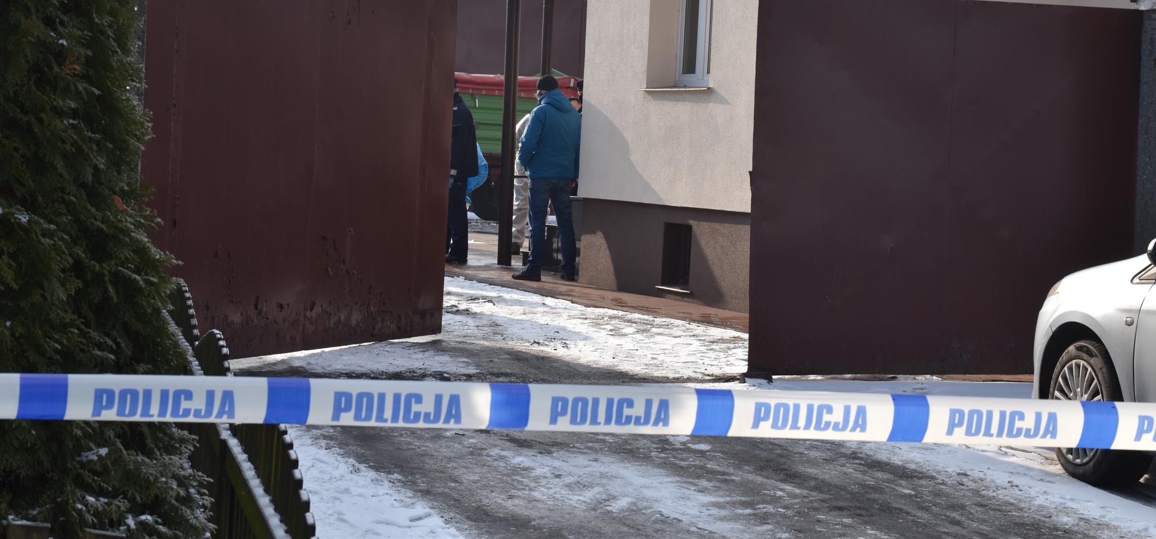 Inowrocław - Turzany. Matka chłopców trafiła na obserwację