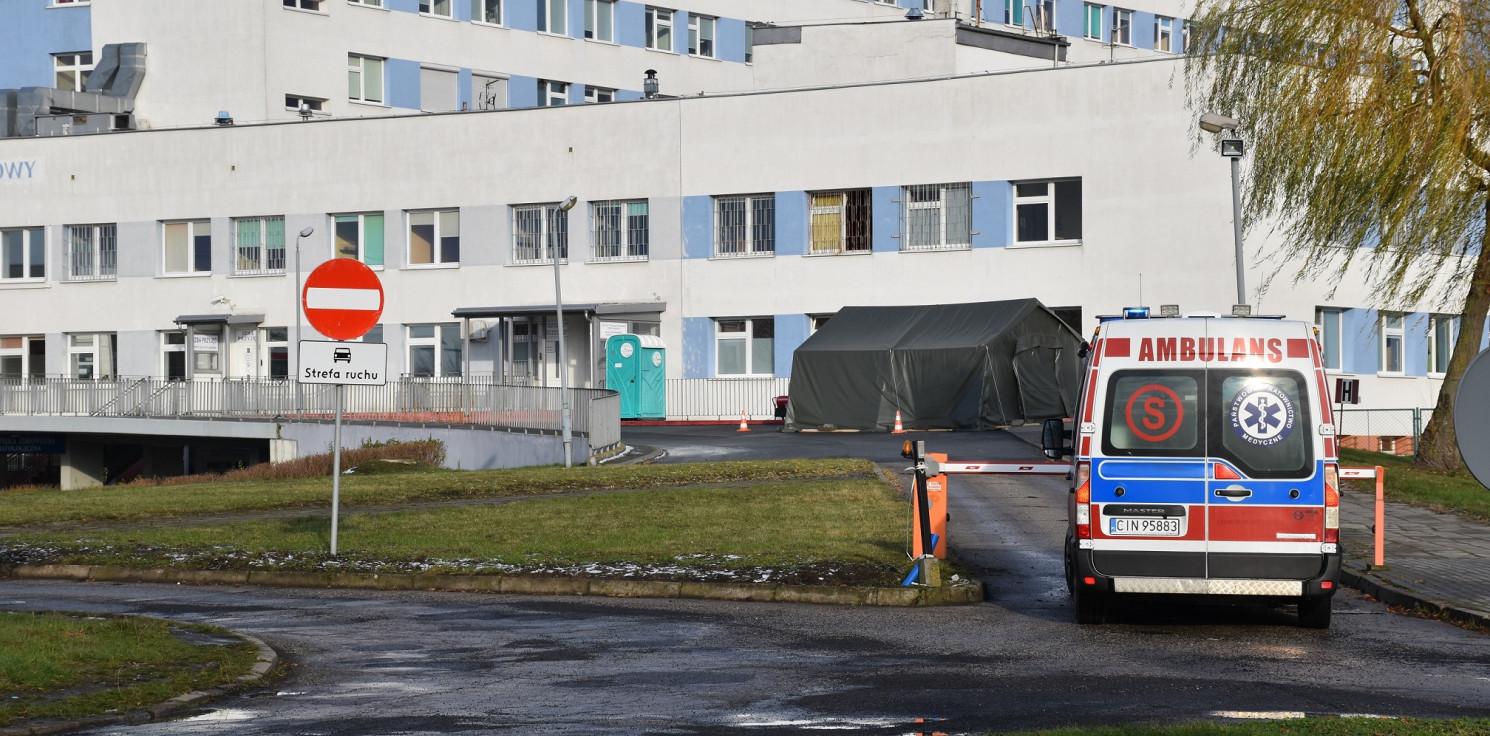 Inowrocław - Inowrocławski szpital zamknął oddział covidowy