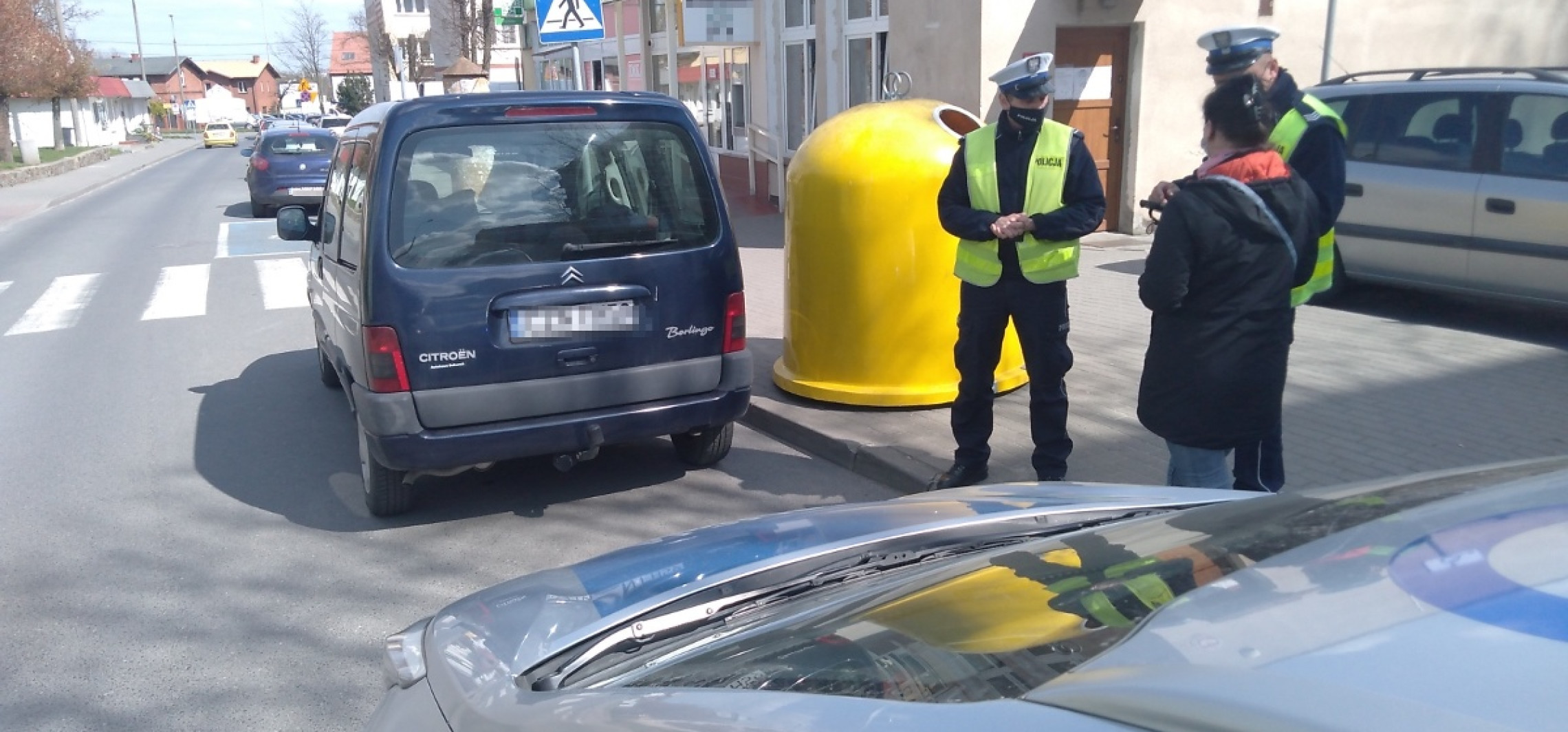 Żnin - Kolejna akcja na drogach policjantów ze Żnina