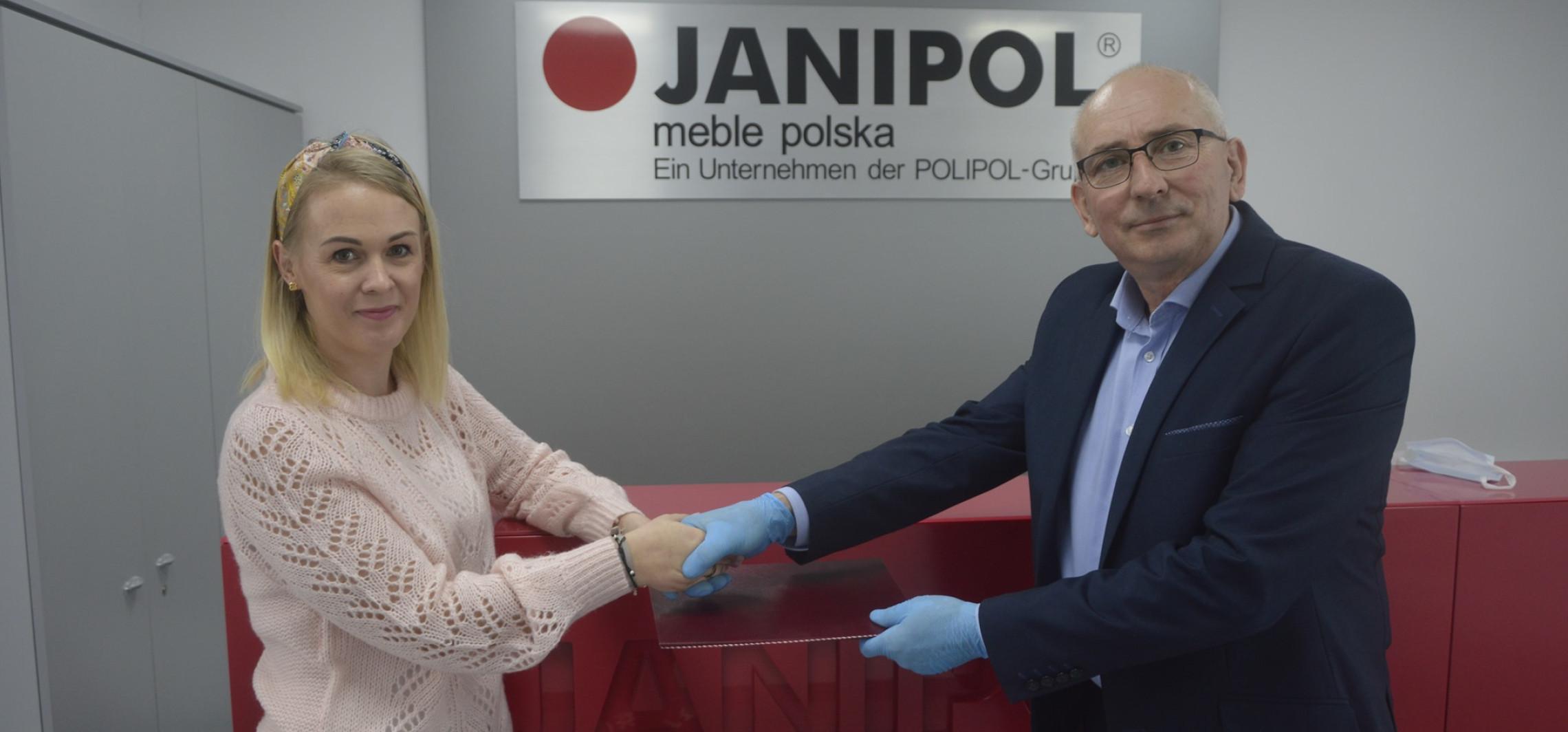 Inowrocław - Szkoła Rzemiosła zaczęła współpracę z Janipolem