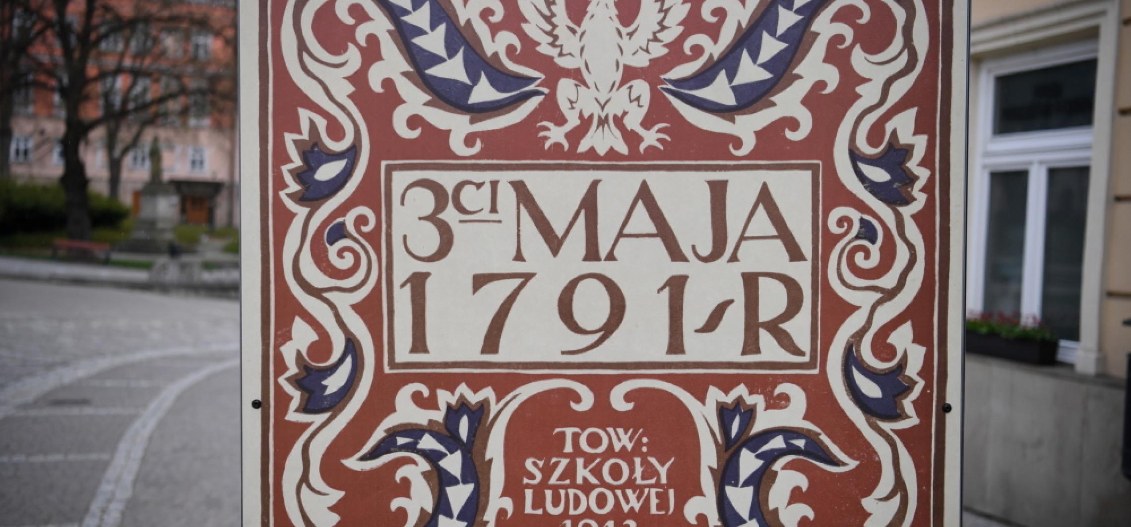 Inowrocław - 230 lat temu uchwalono Konstytucję 3 maja