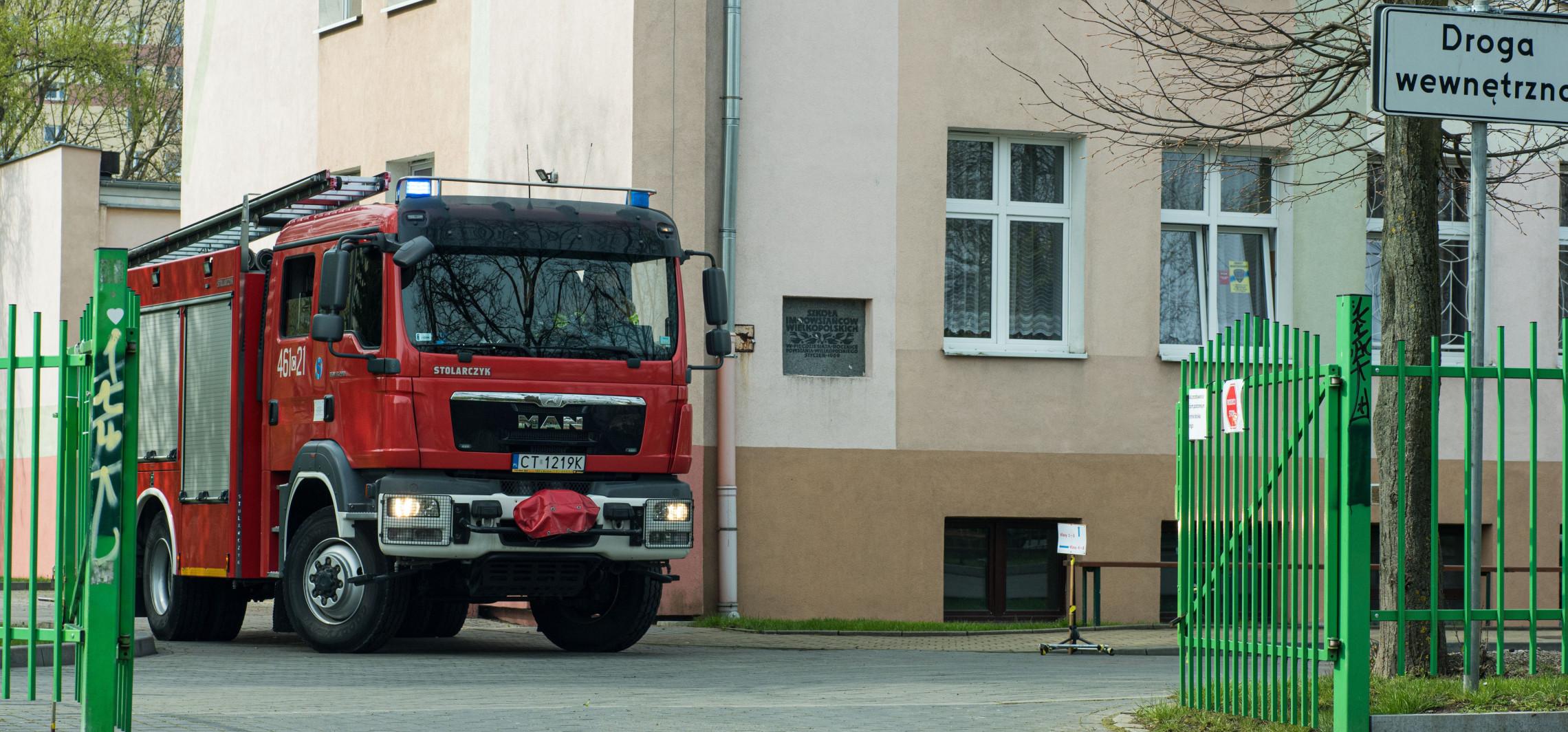 Inowrocław - Alarmy bombowe w czterech szkołach
