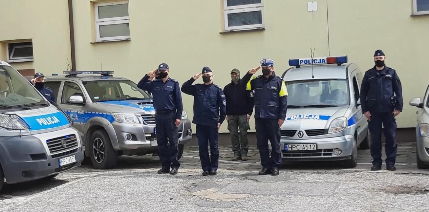 Inowrocław - Oddali hołd zastrzelonemu policjantowi