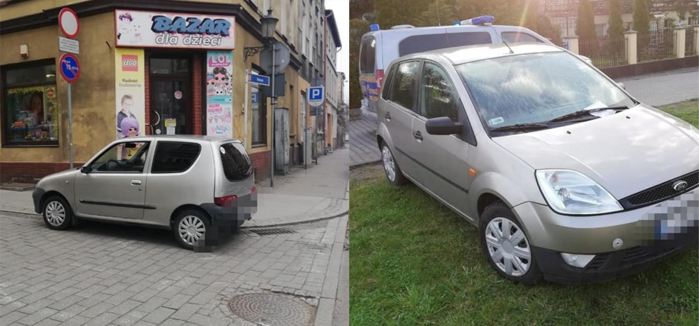 Inowrocław - Tak wygląda dzikie parkowanie w Inowrocławiu