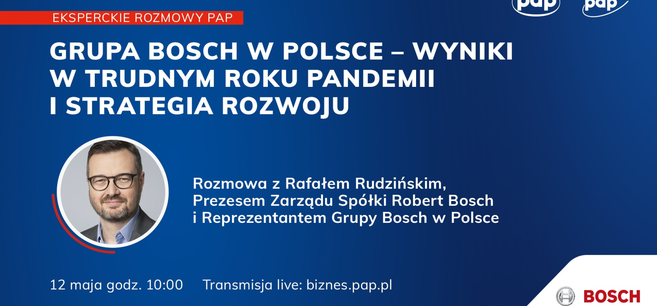 Kraj - Grupa Bosch w Polsce - wyniki w trudnym roku pandemii i strategia rozwoju