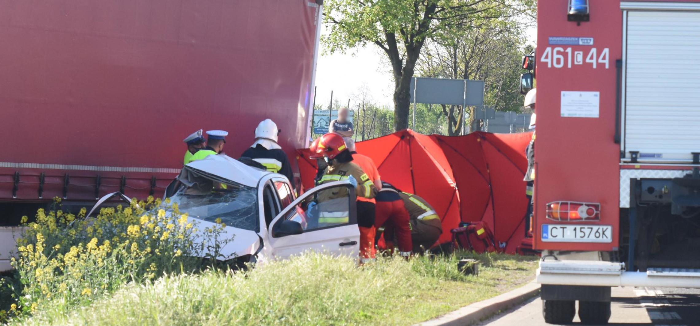 Region - Groźny wypadek koło Złotnik
