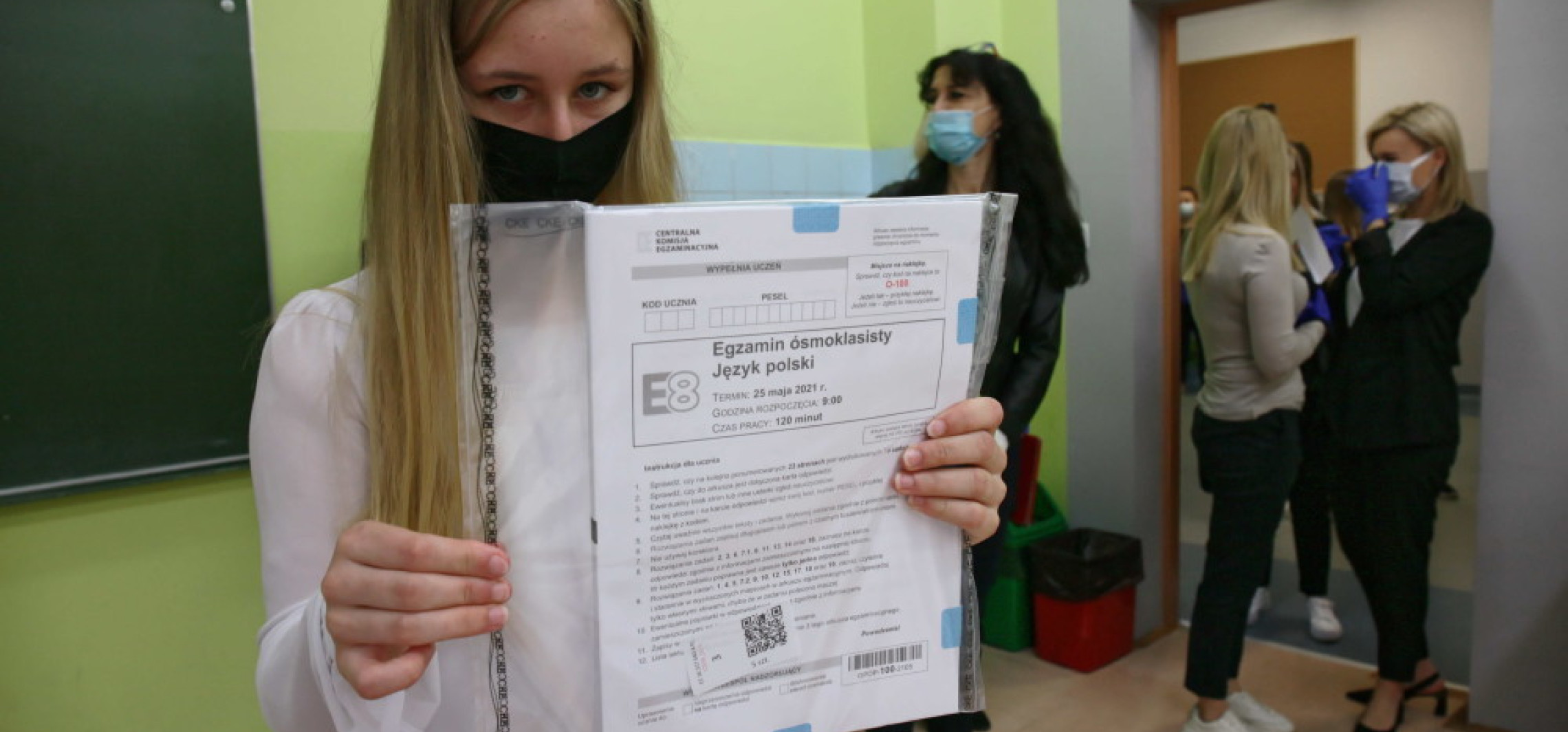 Kraj - Egzaminem z języka polskiego rozpoczął się trzydniowy egzamin ósmoklasisty
